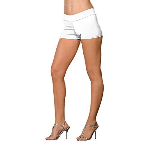 e Hot Kurz Kostüm, weiß, Small/Medium (Dreamgirls Fancy Dress Kostüme)