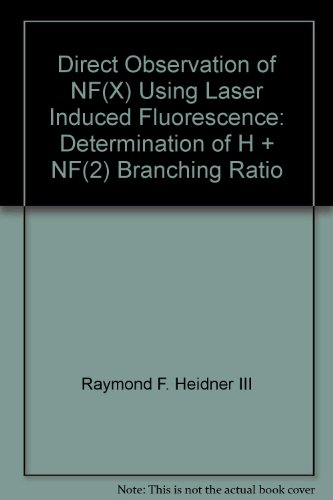 Direct Observation of NF(X) Using Laser Induced Fluorescence: Determination of H + NF(2) Branching Ratio