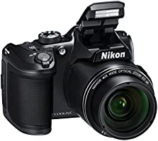 "Nikon Coolpix B500 Fotocamera Digitale Compatta, 16 Megapixel, Zoom 40x, VR, LCD Inclinabile 3"", Full HD, Bluetooth, Wi-Fi, Nero [Nital Card: 4 Anni di Garanzia]"