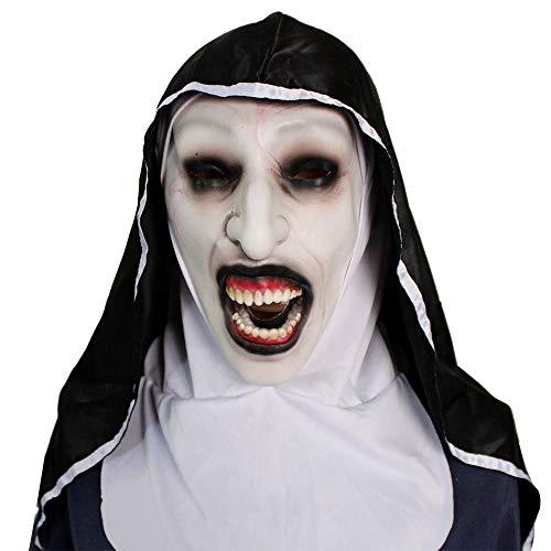 Kostüm Spirituelle - Halloween Horror Maske Cosplay Schwestern Spirituelle Maske Vampire Party/Kostüm Party Maskerade Bar Party Terrorist Requisiten
