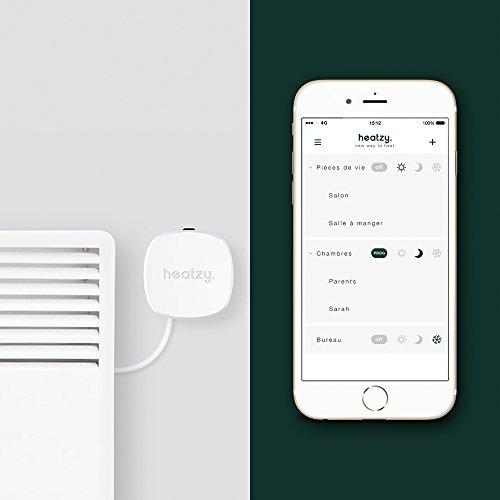 41UZ9z1QF-L [Semaine connectée Amazon] HEATZY Thermostat de chauffage connecté