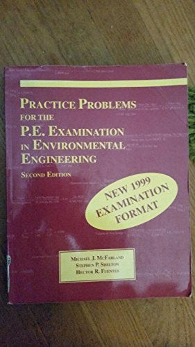 Descargar Libro Preparing for the Pe Examination in Environmental Engineering: Practice Problems With Solutions de Michael J. McFarland