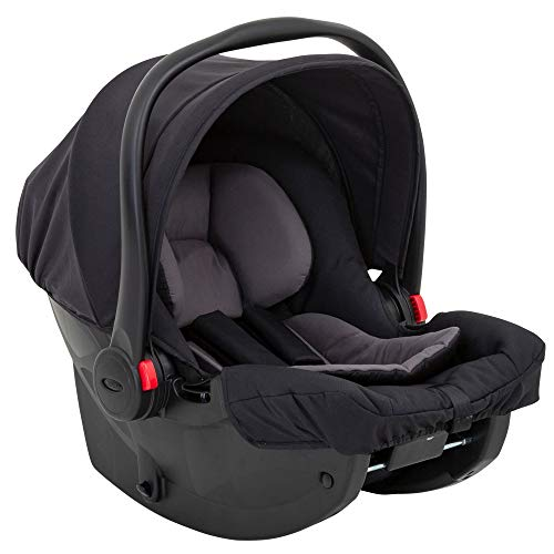 Graco SnugEssentials iSize Infant Car Seat, Black/Grey