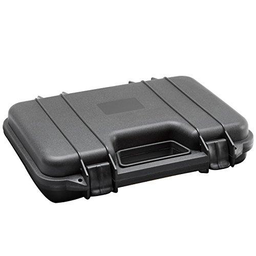 ASG Pistolenkoffer Kunststoff 31 x 19 x 6,5 cm schwarz Revolverkoffer