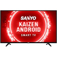 Sanyo 108 cm (43 inches) Kaizen Series Full HD Certified Android LED TV XT-43FHD4S (Black) (2020 Model)