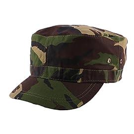 Army Cap MIMETICO CARNEVALE LOOK MILITARE tarnfleck Berretto