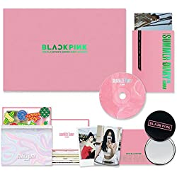 BLACKPINK - 2019 BLACKPINK'S SUMMER DIARY [ IN HAWAI ] DVD + Photobook + Postcards + Stickers + Photocards + PVC Pouch + Folded Poster(On pack) + FREE GIFT