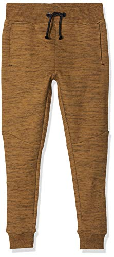 NAME IT Jungen NKMRASSE SWE Pant REG/Slim UNB Sporthose, Braun (Toasted Coconut Toasted Coconut), (Herstellergröße: 134)