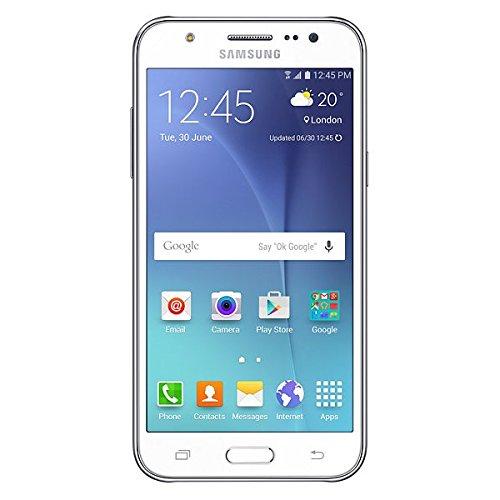 Samsung GALAXY J5 DUAL SIM 4G LTE Simfree 5 Inch Super AMOLED, 1.5GB RAM Smartphone – White image