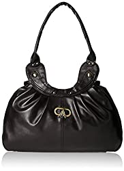 Meridian Women's Shoulder Bag (Black) (mrb-042)
