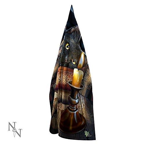 Die Hexenstunde - Katze mit Kerzenschal Multicolours - Fantasy - Nemesis Now