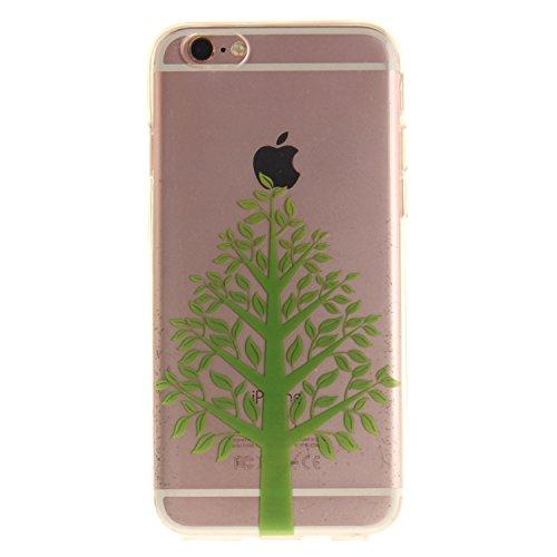 """MOONCASE iPhone 6 / 6S Coque,Etui de Protection Coque Slim Antidérapant Case en TPU Gel Avec Absorption de Chocs pour iPhone 6S / iPhone 6 (4.7 """") TX08 TX05"""