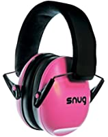 Snug Safe n Sound Kids Ear Defenders / Hearing Protectors - Adjustable Headband Ear Muffs For Children and Adults - 5 YEAR WARRANTY - (Pink)