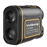 Volibang Golf RangeFinder, 3-1000 Yard 7x Multifunction Golf Hunting Range Finder Speed Measurer