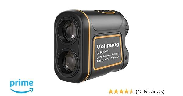 Entfernungsmesser volibang laser messgerät 1000: amazon.de: kamera