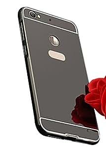 Leeco Letv 1S Case,Spygen™ Luxury Metal Bumper + Acrylic Mirror Back Cover Case For Leeco Letv 1S (Black)