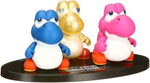 Unbekannt Medicom Nintendo Super Mario Bros. Ultra Detail Figur Serie 2: Baby Yoshi UDF 3er Pack Action Figur