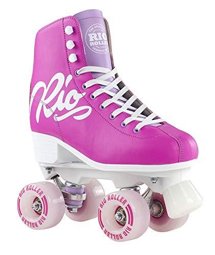 Rio Roller Rollschuhe Script Pink/Lilac (43)
