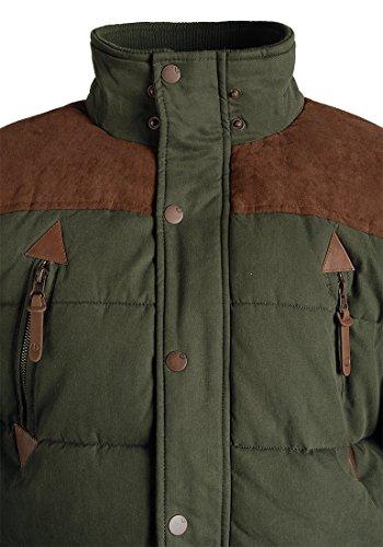 SOLID Dry Jacket Long - Veste d'Hiver- Homme Ivy Green (3797)