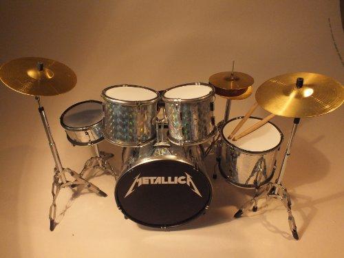 RGM347 Lars Ulrich Metallica Miniaturschlagzeug