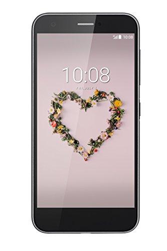 """ZTE Blade A512 - Smartphone libre de 5,2"""" (4G, Qualcomm MSM 8917, 4 núcleos a 1.2 GHz, memoria interna 16 GB, 2 GB RAM, WiFi, Bluetooth, cámara trasera de 13 MP), color negro"""