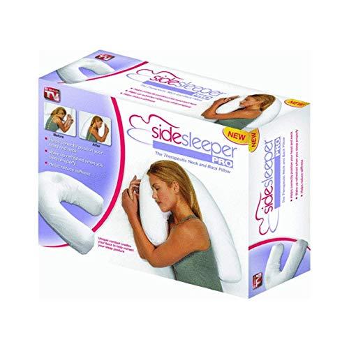 Allstar Products allstar side sleeper pro kissen und kissenbezug, eine größe einheitsgröße packung mit 1