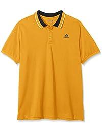 Polo orange Ess adidas homme - orange, L