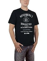 Touchlines Men's Heisenberg Old Blue T-Shirt