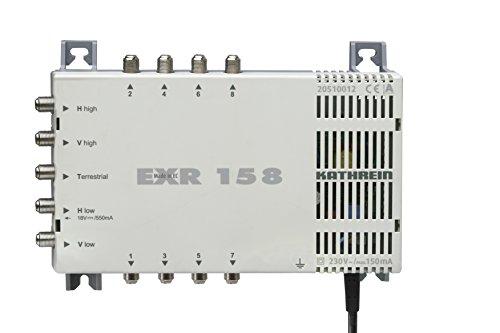Kathrein EXR 158 Satelliten-ZF-Verteilsystem Multischalter (1 Satellit, 8 Teilnehmeranschlüsse, Klasse A)