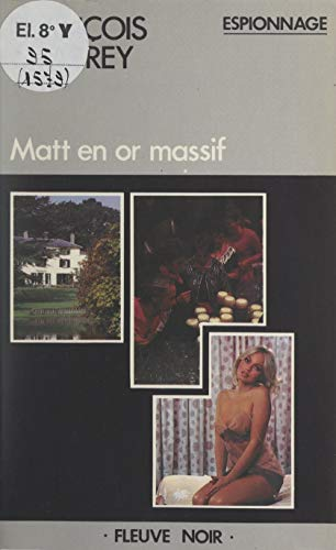 Matt en or massif