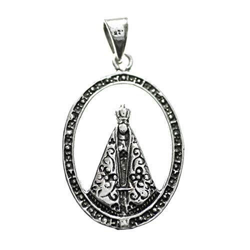 Medalla Virgen Milagrosa Plata de Ley - Medalla religiosa Plata de Ley