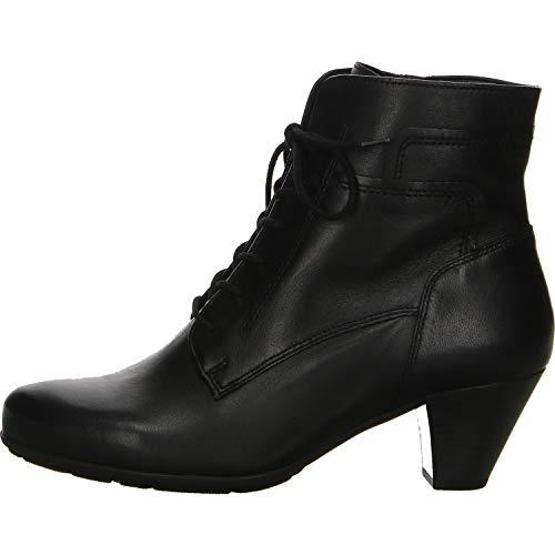 Gabor - Damen Stiefeletten - Schwarz Schuhe in Übergrößen, Größe:43