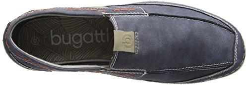 Bugatti F24676n, Mocassins homme Bleu (jeans 455)