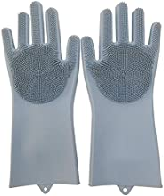 Max Home Magic Silicone Dish Washing Gloves, Silicon Cleaning Gloves, Silicon Hand Gloves for Kitchen Dishwash