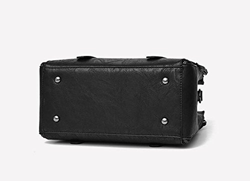 Damen Handtasche Umhängetasche Messenger Bag Casual Handtasche Fight Farbe Tasche Diagonal Paket Weiches Brot A