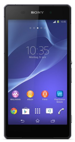 'Sony Xperia Z2 ? Smartphone Android (Bildschirm 5.2, 20,7 MP Kamera, 16 GB, Quad-Core 2,3 GHz, 3 GB RAM) (Import)