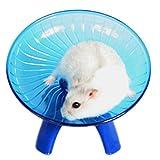 Toruiwa Hamster Spielzeuge Hamster Laufrad Kleintiere Fliegende Untertasse mit Halter