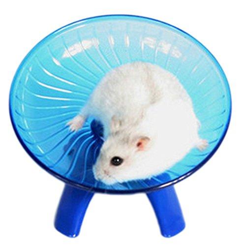 Demarkt Laufteller Laufrad für Hamster Blau 18*18*11cm