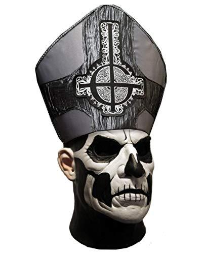 Horror-Shop Ghost Papa Emeritus II. Vollmaske Deluxe für Halloween