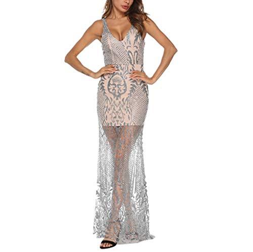 50e4fce38cc7 Vestiti Elegante da Donna Cerimonia Baiomawzh Bodycon Set Dress Vestito  Clubwear Spogliarellista Lungo Inverno Pois Damigella