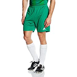 adidas Kid's Parma 16 Shorts, Bold Green/White, 140