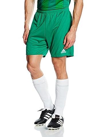 adidas Herren Shorts Parma 16 SHO, Grün/Weiß, 128, 4056561978513