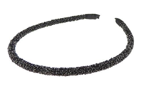 Schmaler Haarreif, mit Strass verziert, besonders funkelnd, für Mädchen und Damen