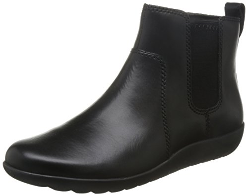 Clarks Medora Grace Womens Casual stivaletti Black Leather 3 D