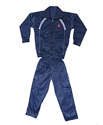 Indistar Boy's 2 Piece Zip Up Track Jacket and Pant for Winters-(Blue, 5-6 Years, 10700-01-IW-20)