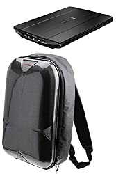 Navitech A4 Portable Mobile Scanner Carry Case Rucksack Backpack For The Fujitsu Scansnap S1300i