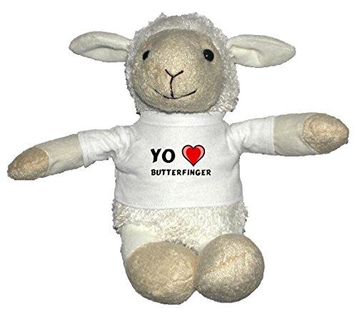 oveja-blanco-de-peluche-con-amo-butterfinger-en-la-camiseta-nombre-de-pila-apellido-apodo