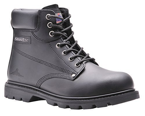 Portwest Steelite - Chaussures montantes de sécurité - Homme (47 EUR) (Noir)