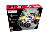 Metal Construction Model Kit Race Buggy Car 1 x AA Battery Operated 163 durable parts real tools + picture instructions mechanical building set toy education learning age 8+ male boy STEM Tronico