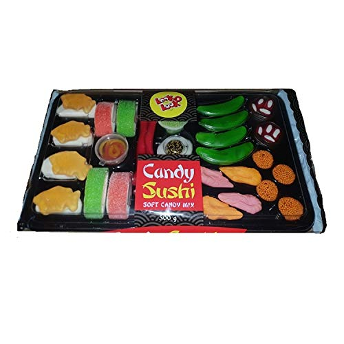 Look O Look Plateau de bonbons sushis 300g